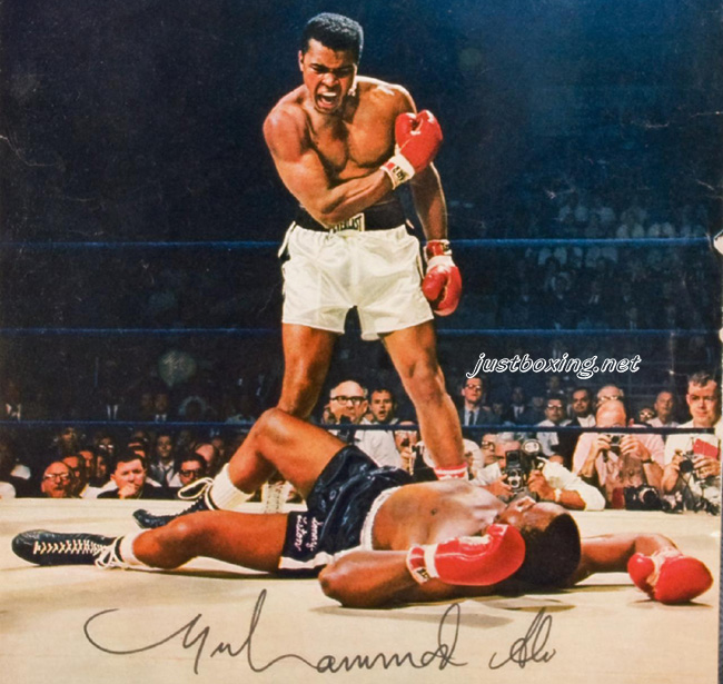ali vs liston coloring pages - photo#10